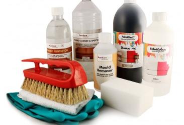 Guide för rengöring & infärgning av cabriolet
