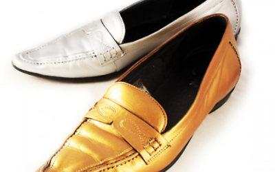 Guide för att färga silver & guld på läder