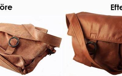 Guide för att restaurera sliten handväska i läder