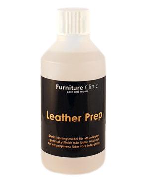 rengöring prep läder