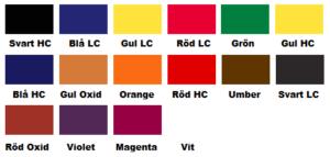 färgkarta läderfärg basfärger furniture clinic
