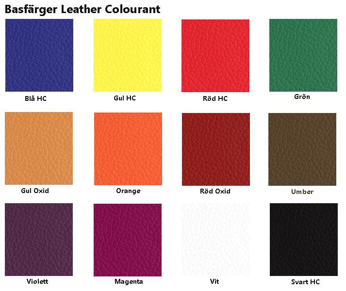 färgkarta basfärger furniture clinic