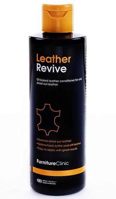 Mjukmedel för läder – Furniture Clinic Leather Revive – 250 ml