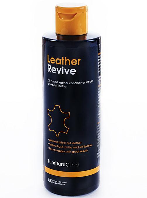 Mjukmedel för läder – Furniture Clinic Leather Revive – 500 ml