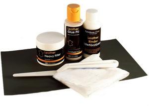 kit för reparation av läder