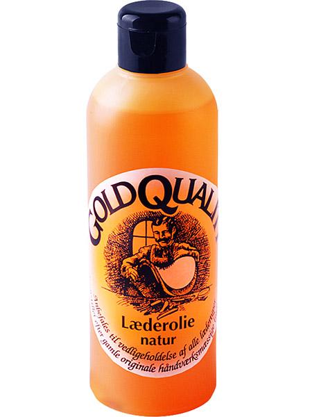 Läderolja Gold Quality Natur 250 ml