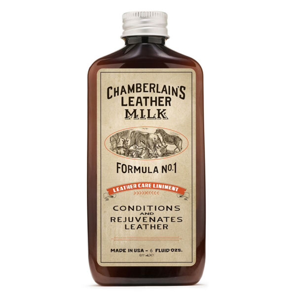 läderbalsam chamberlains leather milk