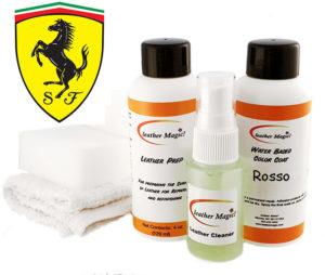 Läderfärg till Ferrari