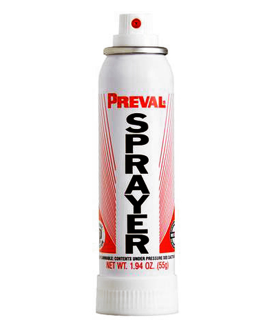 preval sprayflaska för läderfärg