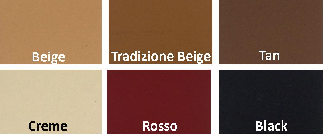 färgkarta läderfärg ferrari