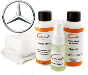 Läderfärg Litet kit till Mercedes Leather Magic