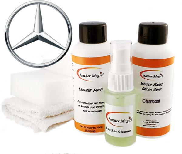 Läderfärg Litet kit till Mercedes Leather Magic