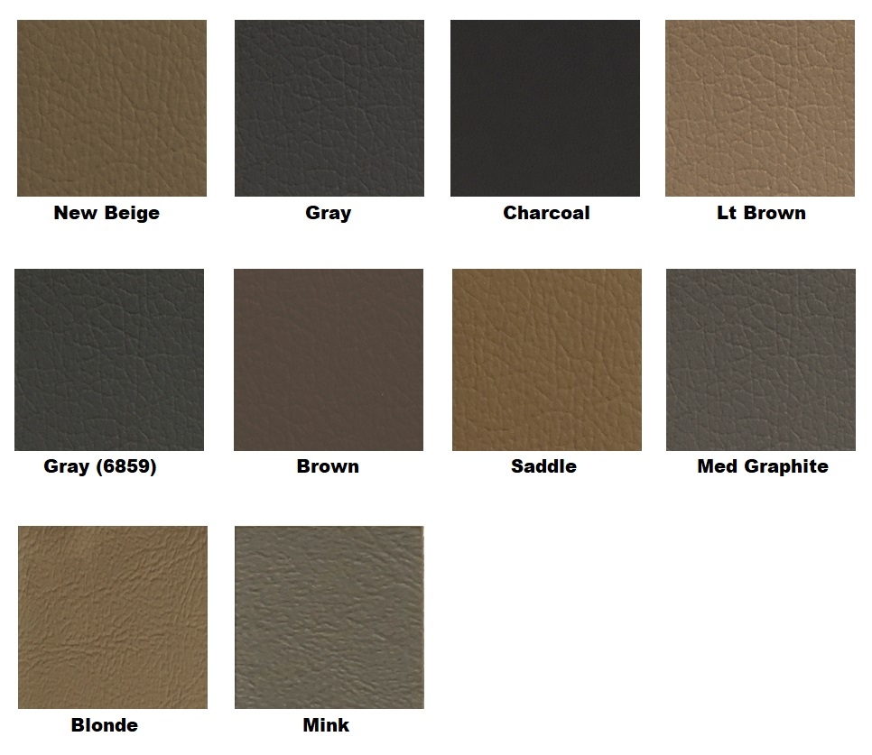 färgkarta leather magic läderfärg nissan