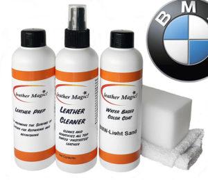 Leather magic läderfärg mellanstort kit BMw
