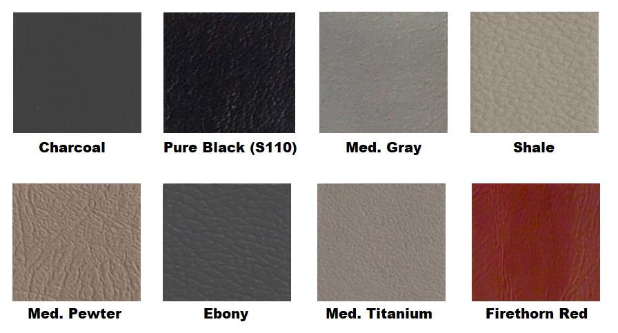 färgkarta läderfärg till GM General Motors