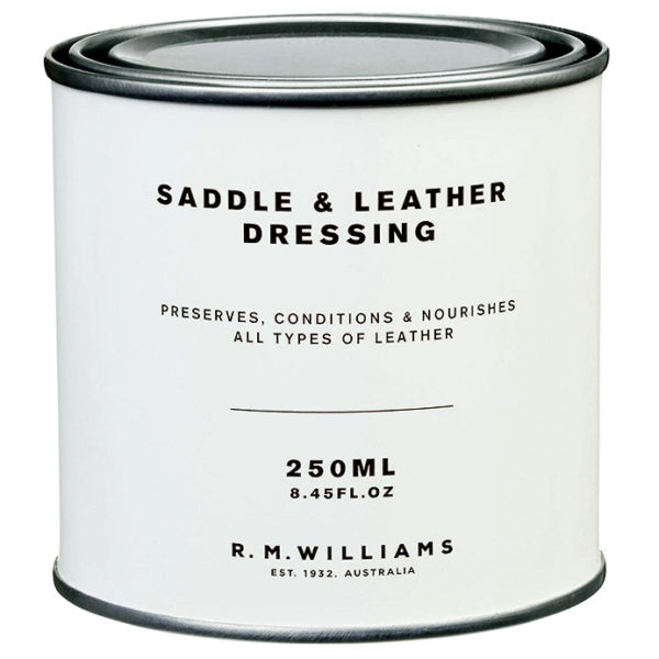 r.m. williams saddle dressing läderfett 250 ml