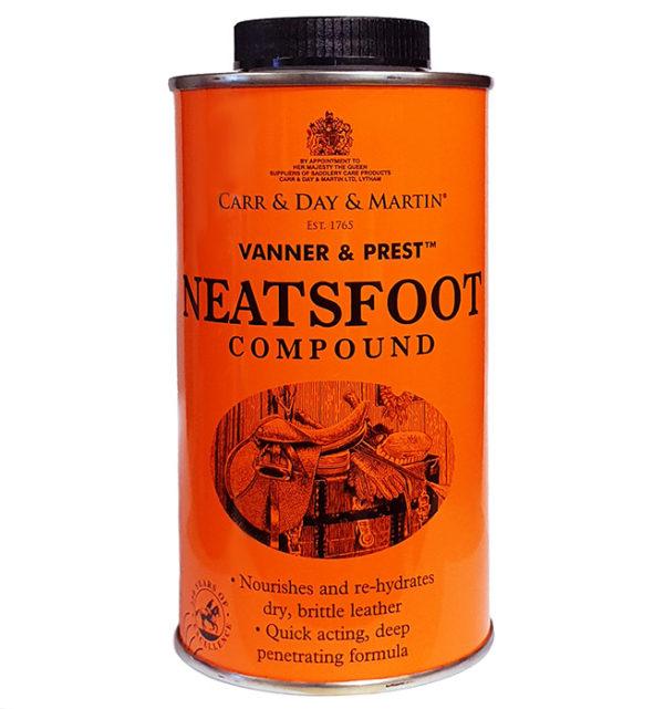 vanner & prest neatsfoot compound läderolja carr & day & martin 500 ml