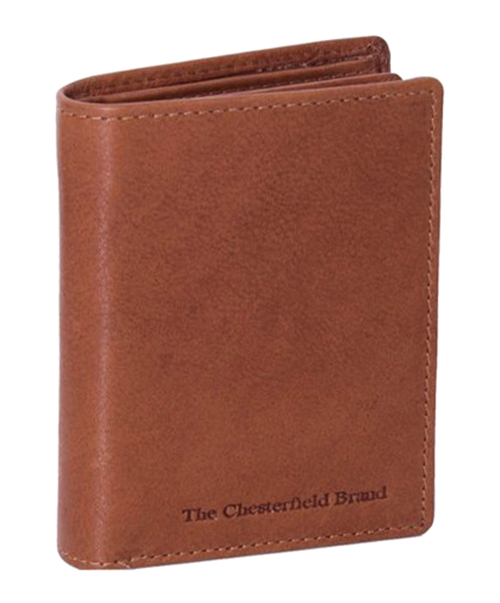 The chestefield brand plånbok hereford cognac framsida