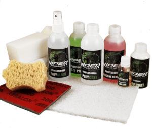 vinylfärg viper products mellanstort kit för infärgning av vinyl konstläder